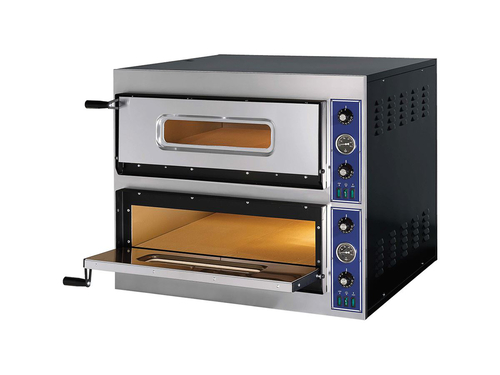 Cuptor pizza electric 6+6 - 2 camere