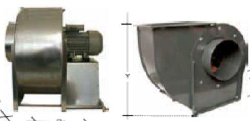 Motor hota extern fara carcasa 9000 mc/h 380 V